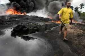 nigerian oil spill